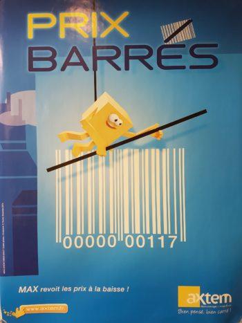 prix barrés